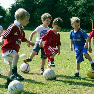 Kids soccer for 3 to 5 year olds